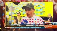 Tour de France: le Belge Greg Van Avermaet décroche le maillot à pois