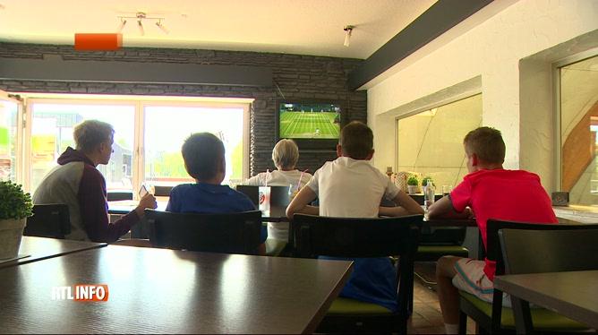 Le match Djokovic-Goffin à Wimbledon suivi avec intensité à Barchon