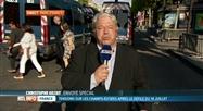 14 juillet: Christophe Giltay est en direct de Paris