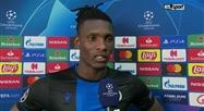 Réaction de Simon Deli après FC Bruges - LASK en Ligue des champions
