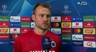 Réaction de Simong Mignolet après FC Bruges - LASK en Ligue des champions