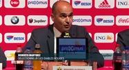 Football: Robert Martinez a dévoilé sa sélection de Diables Rouges