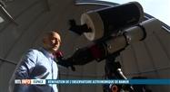 Le nouvel observatoire de l'UNamur a été inauguré