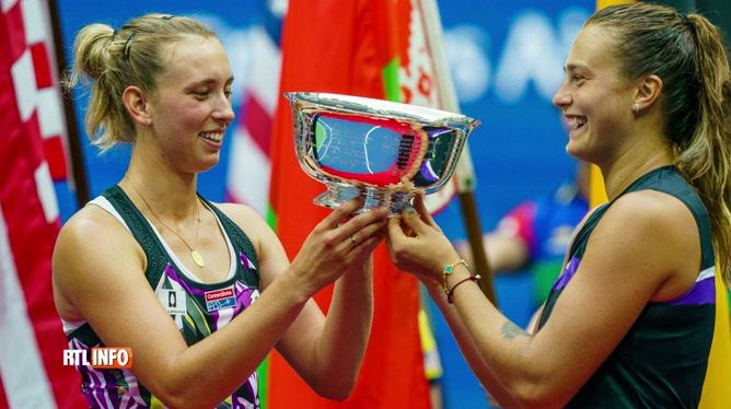 Elise Mertens remporte l'US Open en double dames