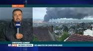 Des analyses seront pratiquées en Wallonie après l'incendie de Rouen
