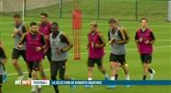 Football: Roberto Martinez a dévoilé sa sélection aujourd'hui