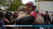 Maxime Monfort a participé à sa dernière course cycliste