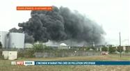 Incendie de Rouen: aucune pollution spécifique détectée en Wallonie