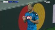Ligue des champions: la célébration très étrange de Dries Mertens