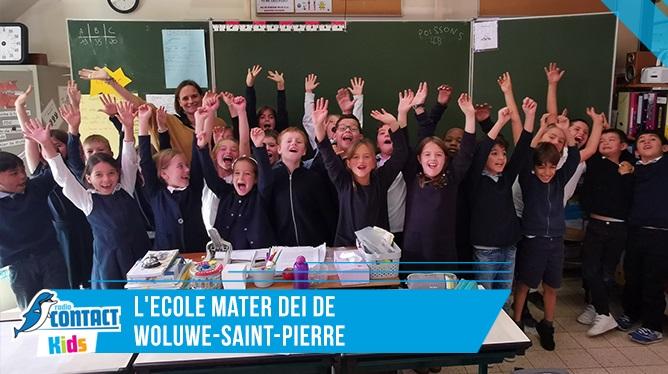 Contact kids à l'Ecole Mater Dei de Woluwe-Saint Pierre