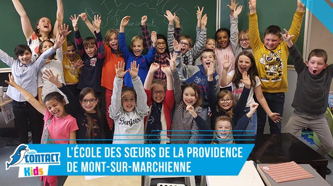 Contact Kids à L'Ecole des Soeurs de la Providence de Mont-sur-Marchienne