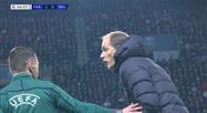 Tuchel et Clément s'énervent après une faute de Bernat