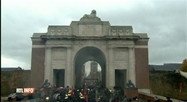 11 novembre: commémorations à Ypres