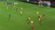 Belgique - Lituanie: Tine De Caigny inscrit son 5e but de la soirée pour les Red Flames