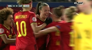 Red Flames: Belgique 6 - 0 Lituanie