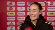 Red Flames: réaction de Tessa Wullaert après Belgique - Lituanie