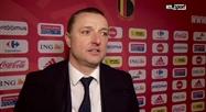 Red Flames: réaction d'Ives Serneels après Belgique - Lituanie