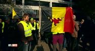 Les gilets jaunes célèbrent leur 1er anniversaire à Namur