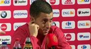 Eden Hazard espère jouer la France à l'Euro 2020