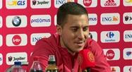Eden Hazard espère jouer... avec un de ses fils