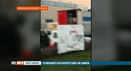 10 migrants retrouvés ce matin dans un camion à Marquain