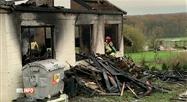 Un incendie a dévasté un atelier de menuisier à Sart-en-Fagne