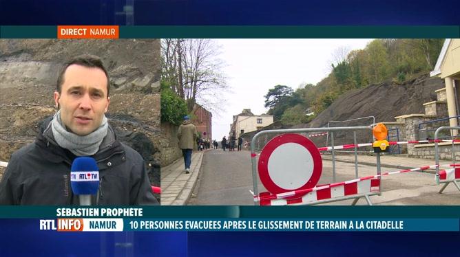 Glissement de terrain à la Citadelle de Namur: nouvelle expertise