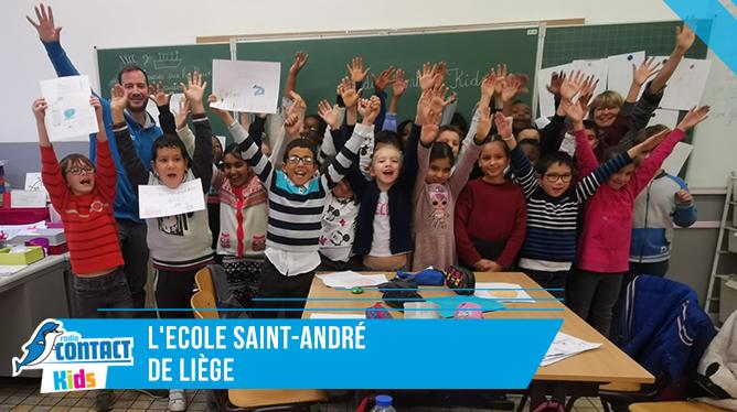 Contact Kids à l'école Saint André de Liège.
