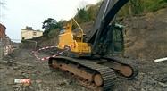 Glissement de terrain à la Citadelle de Namur: les travaux ont débuté