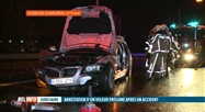 Gosselies: un braqueur provoque un accident avec une voiture volée