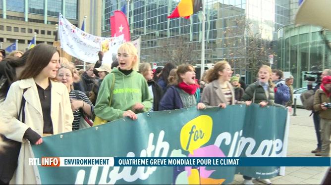 Marches en faveur du climat dans plusieurs villes de Belgique