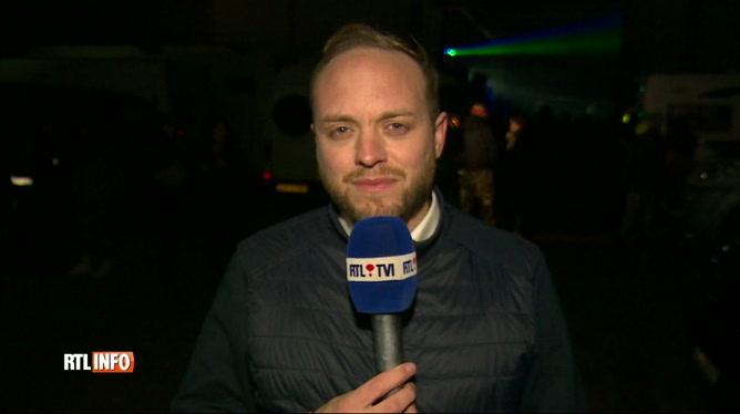 Rave party illégale à Spontin : près de 1.500 personnes sur place