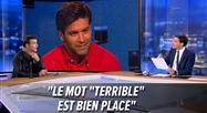 Roch Voisine SURPRIS par les images que lui montre Olivier Schoonejans sur le plateau du RTL INFO Avec Vous