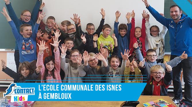 Contact Kids à l'ecole communale des Isnes