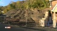 Tout danger est écarté après le glissement de terrain à Namur