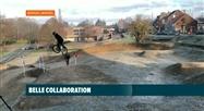 Bierges: des jeunes collaborent avec la commune pour rénover un vieux terrain de BMX