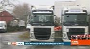 Grève en France: l'impact est grand sur le transport routier belge