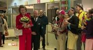 La Reine s'est rendue à l'hôpital des enfants Reine Fabiola