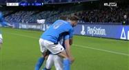 Milik ouvre le score pour Naples face à Genk (vidéo)