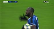 Lukaku inscrit un très joli but contre le Barça (vidéo)