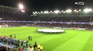 L'hymne de la Ligue des champions au stade Jan Breydel de Bruges