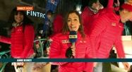 La Parade de Noël RTL à Mons : le point avec Anne Ruwet
