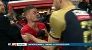 Bagarre générale à la fin du match Standard-Antwerp hier soir