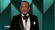 Tom Hanks fond en lames pendant la cérémonie des Golden Globes