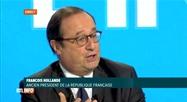 François Hollande est l'invité de Pascal Vrebos ce midi