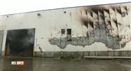 Incendie ce dimanche matin à Frameries sur l'ancien site de Doosan