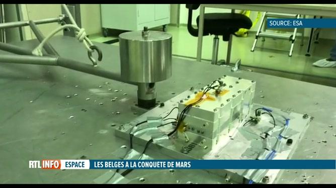 Des chercheurs belges vont envoyer un instrument sur la planète Mars