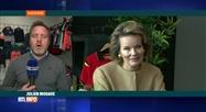 La Reine Mathilde est en visite en Province de Liège