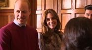 Première sortie pour Kate et William depuis le