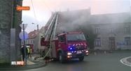Senzeilles : 3 pompiers victimes d'un retour de flamme